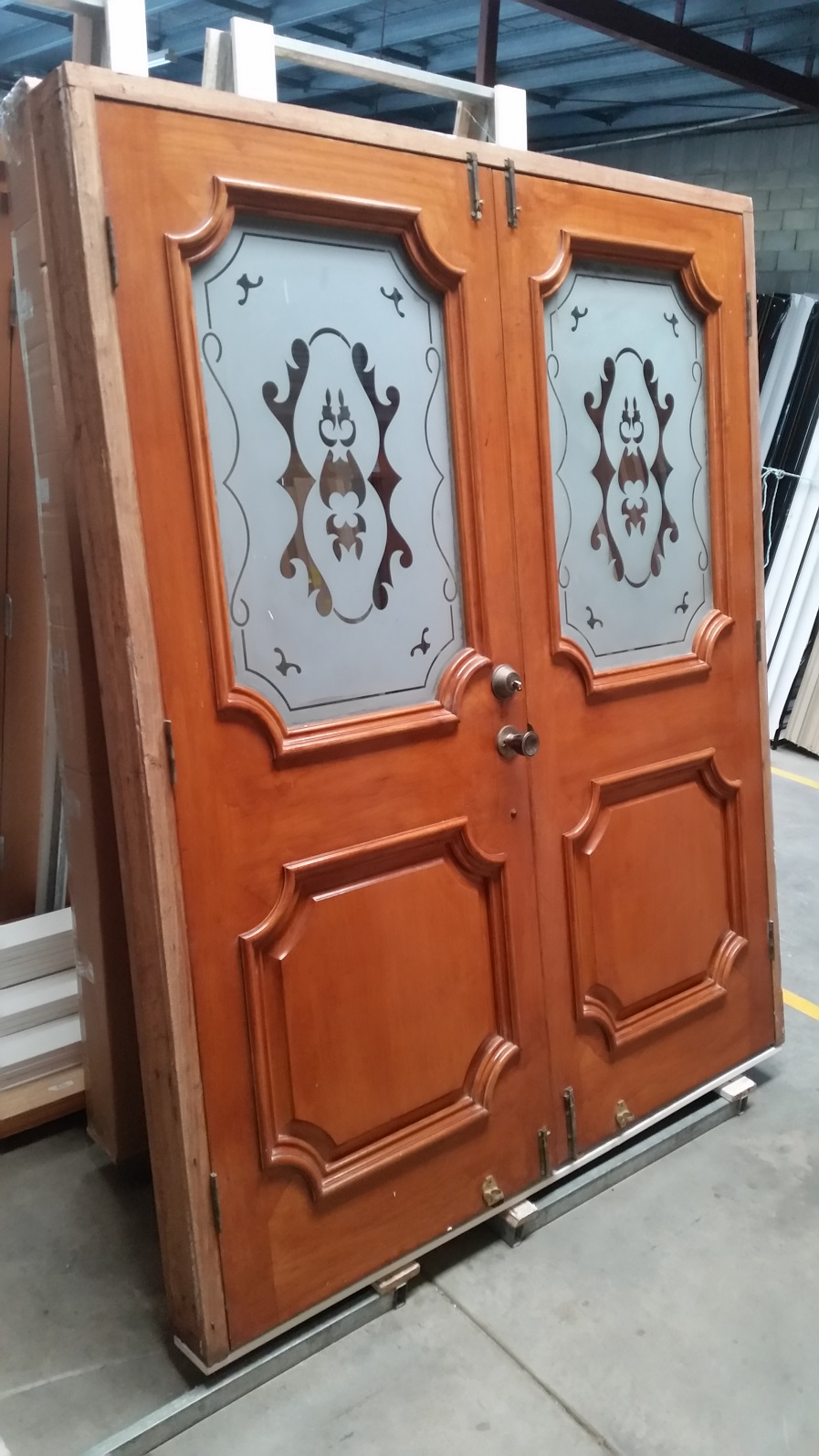 Timber Entry Doors French Door 2095h X 1710w Solid Core W